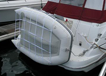 Inflatable boat accessories for inflatable boats including dinghy