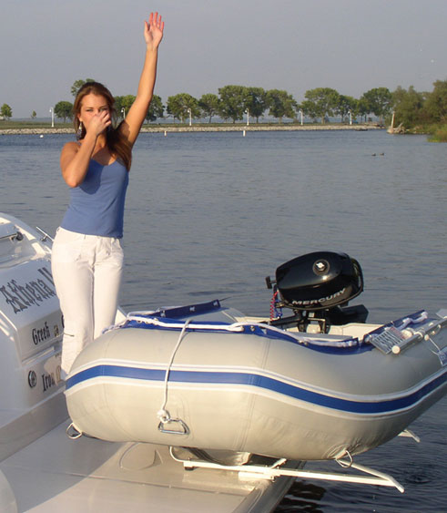 Hurley Davits Davit Systems For Inflatable Boats