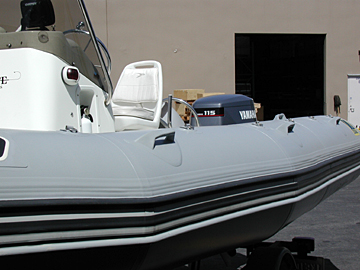 inflatable boat paint and tuff coat for repairing renewing