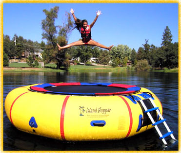 Inflatable trampolines water trampoline or bouncer and - Piscine gonfiabili per bambini toys ...